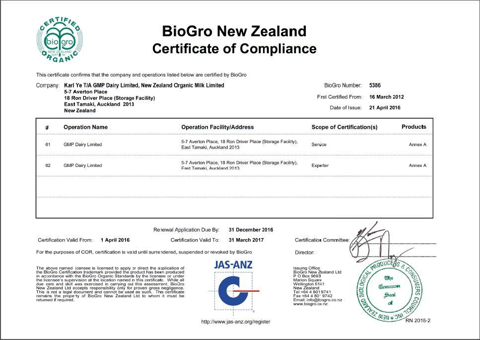 BioGro 5386 Certificate-1