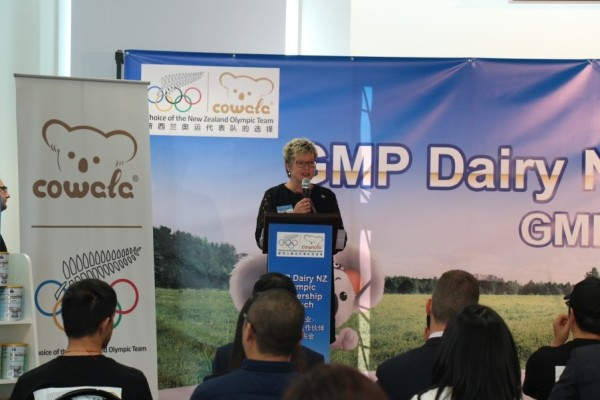 Kereyn Smith - CEO of the New Zealand Olympic Committee speech